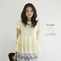 �ե��ߥ˥���®�������ӥ��塼�ե��֥饦�� ��viera ��������� tocco closet��SUMMER COLLECTION