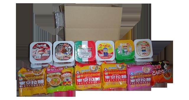 東京拉麺の全部入りお試しセット