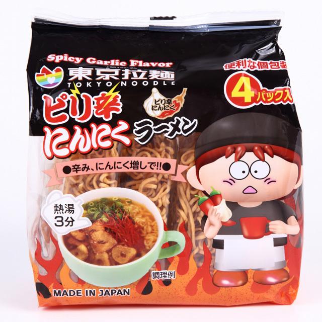 東京拉麺ピリ辛にんにく
