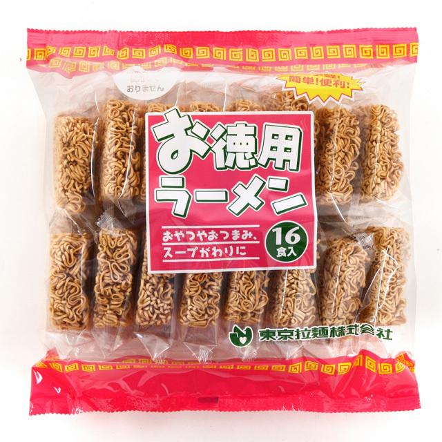 【東京拉麺】お徳用ラーメン 16食入パック単品