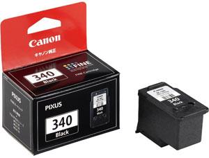 Canon FINEカートリッジ BC-340 ブラック 純正