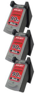 FINEカートリッジ BC-90 ブラック (大容量) リサイクル <3個入>