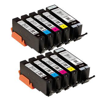 インクタンク BCI-371XL (BK/C/M/Y) + BCI-370XL マルチパック(大容量) 汎用品(新品・ノーブランド)<2パック入>