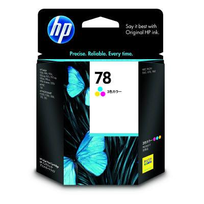 HP 78 プリントカートリッジ カラー C6578DA#003 純正