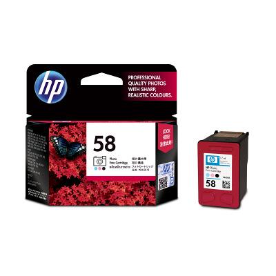 HP 58 プリントカートリッジ フォトカラー C6658AA#003 純正