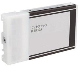 インクカートリッジ フォトブラック ICBK39A リサイクル