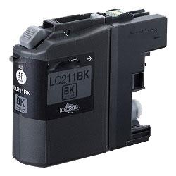 インクカートリッジ LC211BK(黒) 汎用品(新品・ノーブランド)