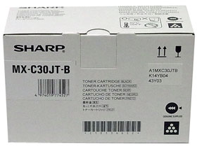 SHARP MX-C30JTB (ブラック) トナーカートリッジ 純正