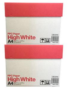 A4 コピー用紙・プリンタ用紙 / ハイホワイト (PPC Paper High White) <2,500枚×2箱>