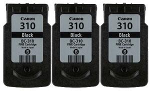 Canon FINEカートリッジ BC-310 ブラック 純正<3個入>