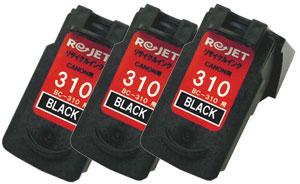 FINEカートリッジ BC-310 ブラック リサイクル<3個入>