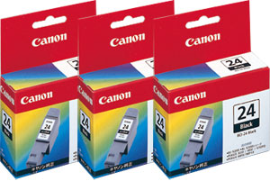 Canon インクタンク BCI-24BK ブラック 純正<3個入>