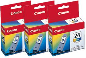 Canon インクタンク BCI-24CLR カラー 純正<3個入>