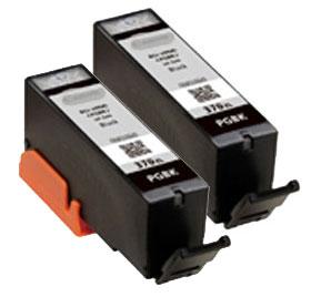 Canon インクタンク ブラック BCI-370XLPGBK (2個パック・大容量) 純正