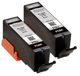 インクタンク ブラック BCI-370XLPGBK (2個パック・大容量) 汎用品(新品・ノーブランド)