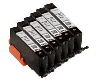 インクタンク ブラック BCI-371XLBK(大容量) 汎用品(新品・ノーブランド)<6個入>