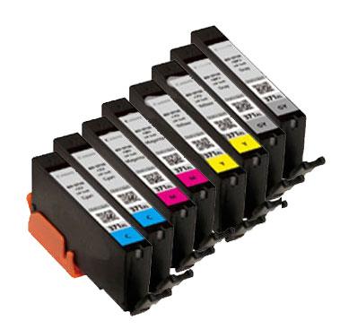 インクタンク BCI-371XL(C:2/M:2/Y:2/GY:2)大容量 汎用品(新品・ノーブランド)<8個入>
