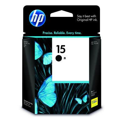 HP 15 プリントカートリッジ ブラック C6615DA#003 純正
