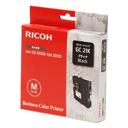 RICOH GXカートリッジ ブラック GC21K 純正