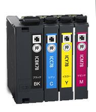 インクカートリッジ IC4CL78 汎用品(新品・ノーブランド)<4色入>