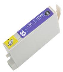 インクカートリッジ ICBL33 ブルー 汎用品(新品・ノーブランド)
