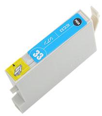 インクカートリッジ ICC33 シアン 汎用品(新品・ノーブランド)