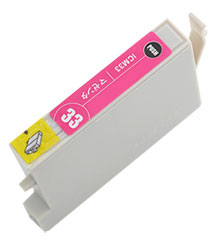 インクカートリッジ ICM33 マゼンタ 汎用品(新品・ノーブランド)