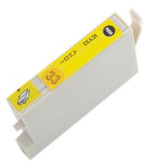 インクカートリッジ ICY33 イエロー 汎用品(新品・ノーブランド)