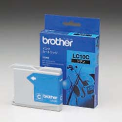 brother インクカートリッジ LC10C (シアン) 純正