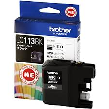 brother インクカートリッジ LC113BK(黒) 純正