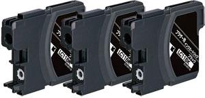 インクカートリッジ LC11BK (黒) 汎用品(新品・ノーブランド) <3個入>