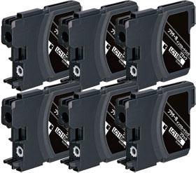 インクカートリッジ LC11BK (黒) 汎用品(新品・ノーブランド) <6個入>