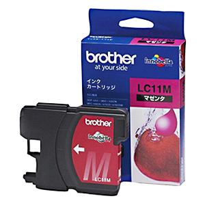 brother インクカートリッジ LC11M (マゼンタ) 純正