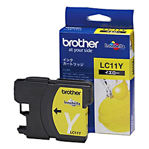 brother インクカートリッジ LC11Y (イエロー) 純正