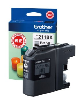 brother インクカートリッジ LC211BK(黒) 純正