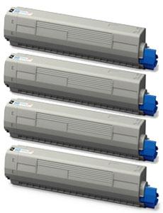 トナーカートリッジ (大) TNR-C3L (K、C、M、Y) 2 リサイクル <4色入>
