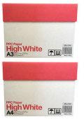 (A3+A4 セット)コピー用紙・プリンタ用紙 / ハイホワイト (PPC Paper High White) (1,500枚+2,500枚)
