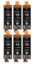 Canon インクタンク BCI-19BK ブラック 純正<6個入>