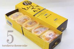 チーズケーキ5個入