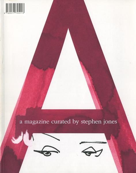 スティーブン・ジョーンズ  A Publisher 2013年