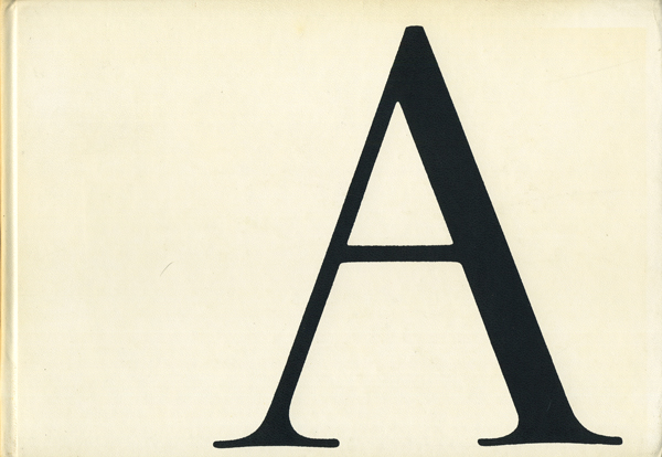 Erik Lindegren: ABC of Lettering and Printing Types [3 volumes]