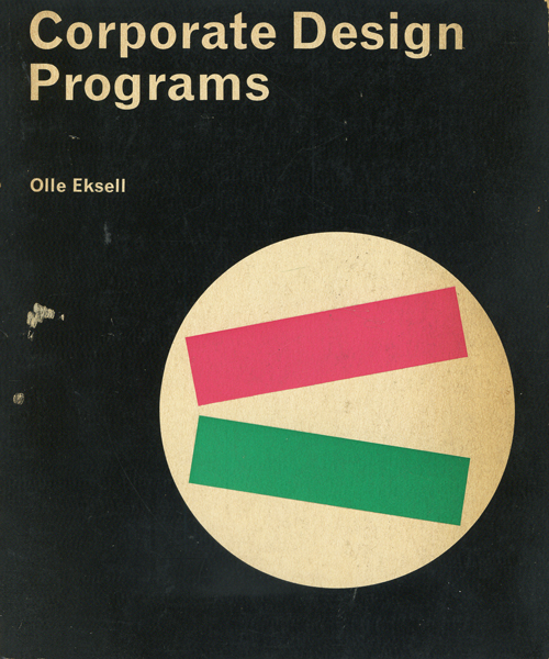 Olle Eksell: Corporate Design Programs