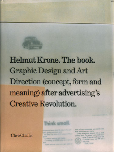 Helmut Krone. The book.