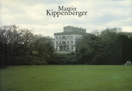 Martin Kippenberger: Forgotten interior design problems at home