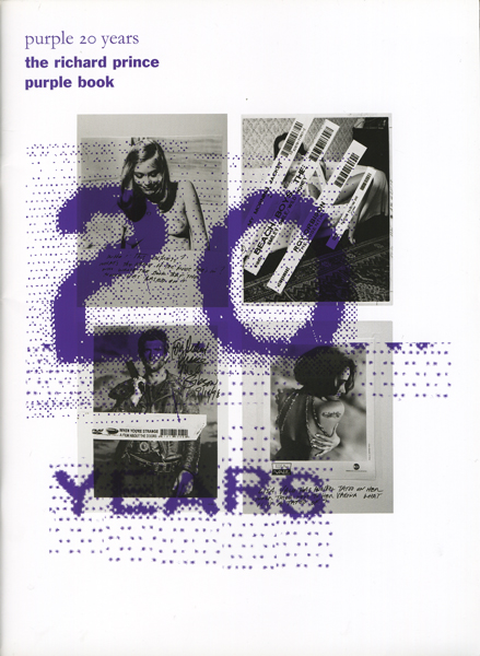 Richard Prince: Purple 20 years the richard prince purple book - a special edition for Purple Fashion Magazine #18, Purple