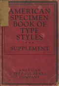 American Specimen Book of Type Styles Supplement