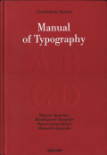 Giambattista Bodoni: Manual of Typography