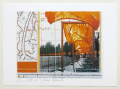 Christo: The Gates, New York Nr. XV - offset lithograph