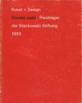 Donald Judd: Kunst + Design Prestrager der Stankowski-Stiftung 1993