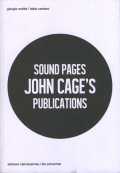 SOUND PAGES JOHN CAGE'S PUBLICATIONS
